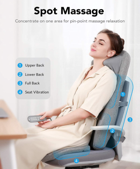 Best Back Massagers for Chairs  - Naipo