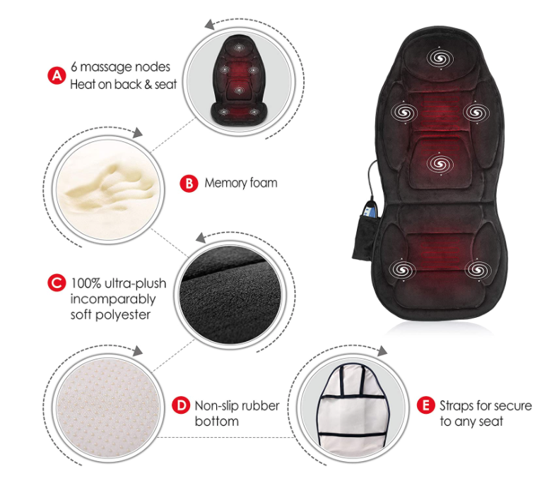 Best Back Massagers for Chairs  - Snailax