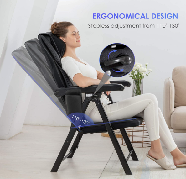 Best Back Massagers for Chairs - Comfier Portable Folding
