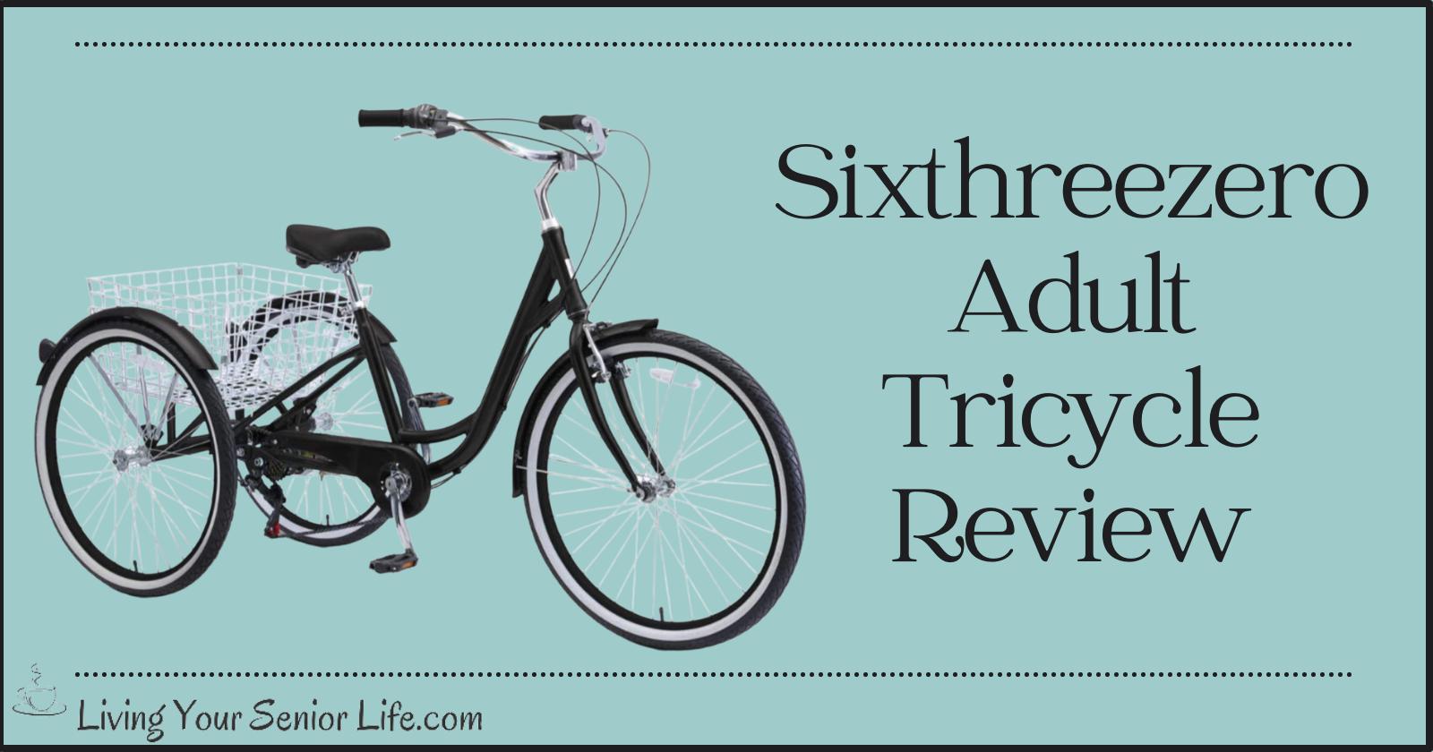 Sixthreezero Adult Tricycle