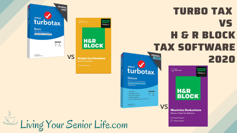 Turbo Tax vs H & R Block 2020
