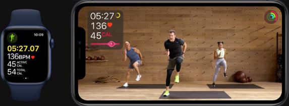 Apple Watch Series 6 -Health Metrics - Review - Apple Fitness+