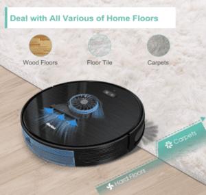 Robotic Vacuum Cleaner Buying Guide - Flooring Types