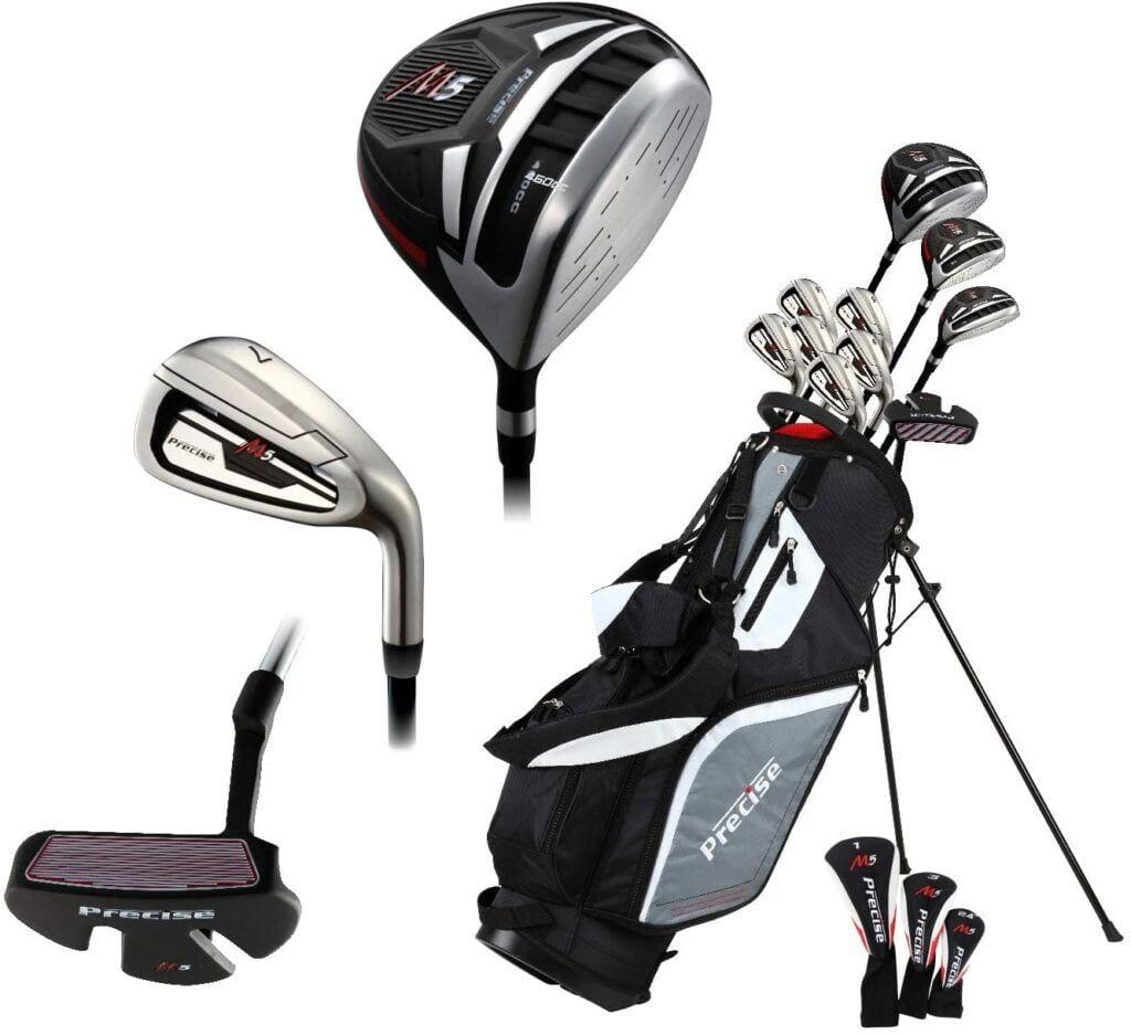5 Best Golf Club Sets for Senior Men - 14 Piece Men's All Graphite Senior Complete Golf Clubs