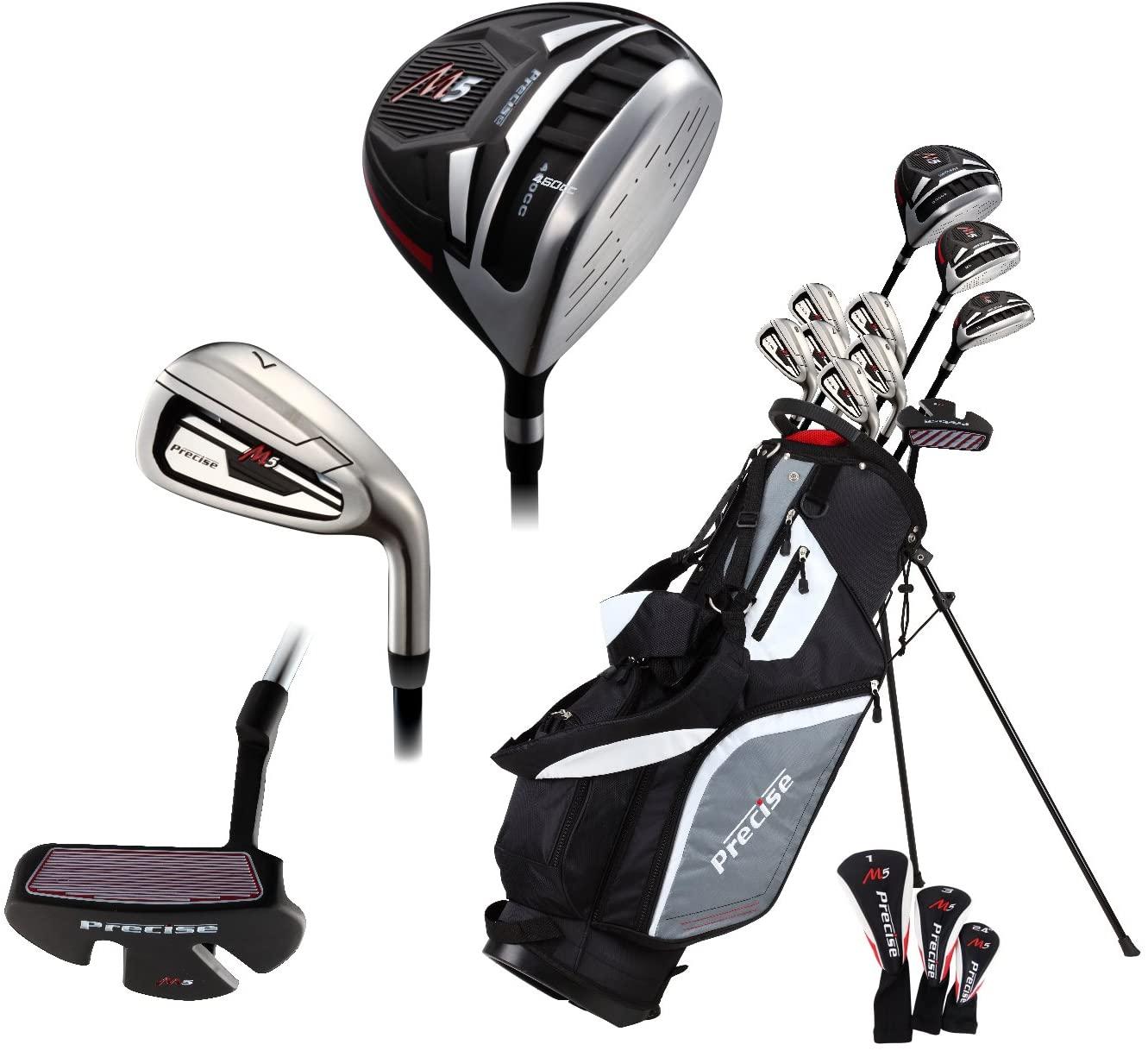 5 Best Golf Club Sets for Senior Men -14 Piece Men's All Graphite Senior Complete Golf Clubs