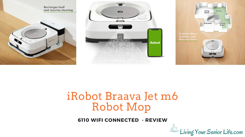 iRobot Braava Jet m6 - 6110 WiFi Connected Robot Mop - Review