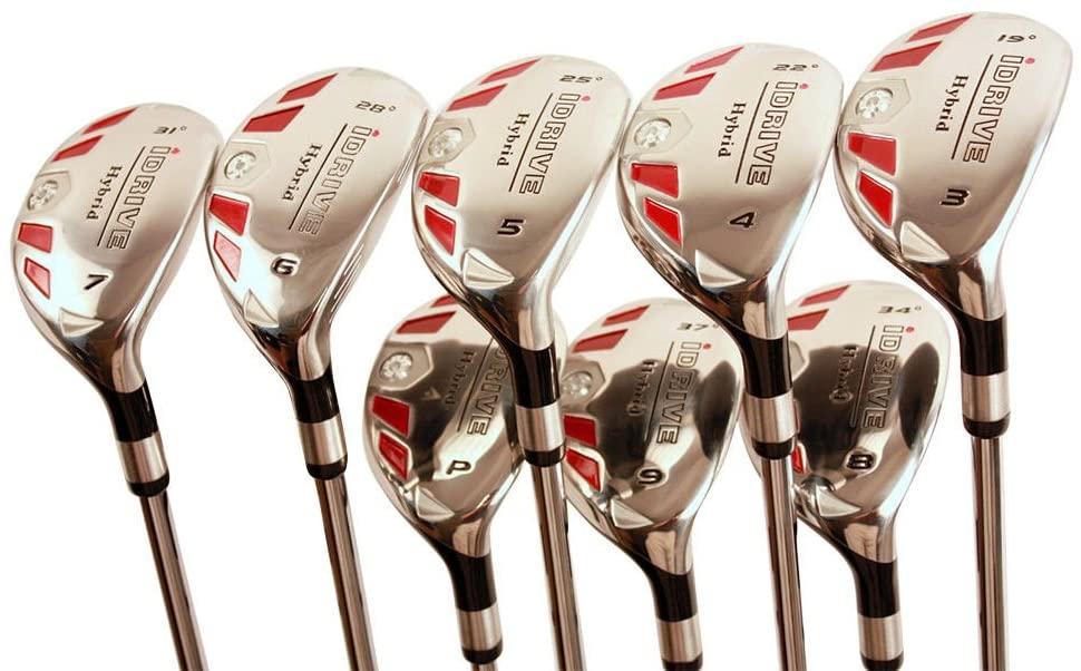 5 Best Golf Club Sets for Senior Men -iDrive Hybrids Senior Men's Golf All Complete Full Set